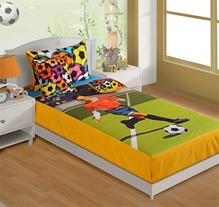 Swayam - Soccer Print Baby Bed Sheet