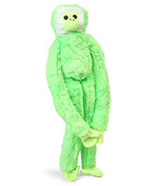 Wild Republic Hanging Monkey Soft Toy Green - Height 50.8 Cm