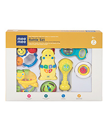 Mee Mee Joyful Musical Rattle Set - Set Of 7