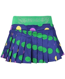 SAPS - Polka Dots Print Pleated Skirt