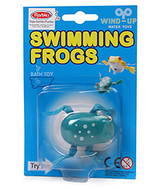 Marbles Swimming Frogs Wind Up Toy - Sky Blue