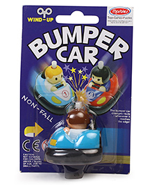 Marbles Non Fall Wind Up Bumper Car - Blue