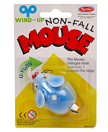 Marbles Non Fall Mouse Wind Up Toy - Sky Blue
