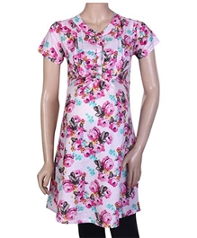 Short Sleeves Floral Maternity Top Small, Stylish And Comfortable Maternity Top