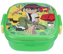 Ben 10 - Green Small Square Lunch Box