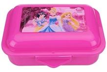 Disney Princess - Pink Flap Lunch Box