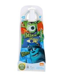 Disney - Monster Inc Blue Collapsible Water Bottle