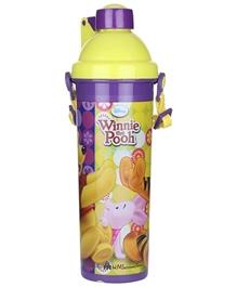 Winnie the Pooh - Purple Pop Up Lid Bottle