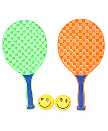 Ratnas Champ Tennis Set - Orange & Green