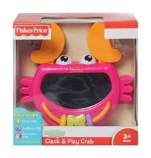 Fisher-Price - Growing Baby - Clack & Play Crab