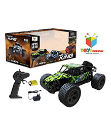 Toys Bhoomi Cheetah King RC Drift Car - Green