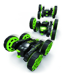 Toys Bhoomi Brushed Motor Remote Controlled Car With LED Light - Black Green