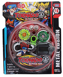 VibgyorVibes Battle Top Beyblade Launcher & Stadium (Colours May Vary)