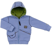 Kushies Baby - Full Sleeves Jacket With Hood