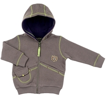 Kushies Baby - Full Sleeves Fleece Jacket With Hood