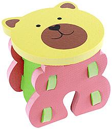 Fab N Funky - Teddy Bear Theme Baby Stool