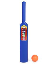 Ratnas Champ Bat & Ball Set - Blue