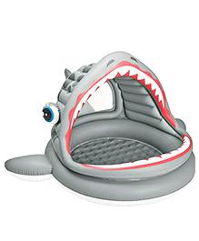 Intex Roaring Shark Shade Pool - Grey