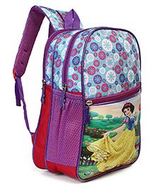 Disney Snow White School Bag Multicolour - Height 14 Inches
