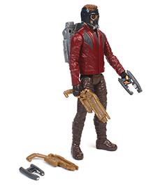 Marvel Avengers Titan Hero Power Star Lord Maroon & Black - Height 29 Cm