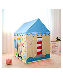 Second May Large Play House Sand Castle Design - Light Blue