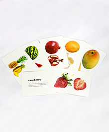 Krazy Fruits Flash Cards Multi Color - Pack Of 24