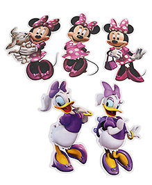 Disney Minnie Mouse Cut Out - Multicolour