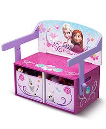 Disney Frozen Convertible Bench - Pink Purple