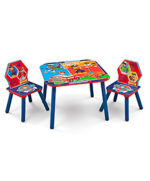 Paw Patrol Table & Chair Set - Multi Color