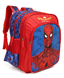 Marvel Spider Man Homecoming Classic School Bag Red - Height 14 Inches
