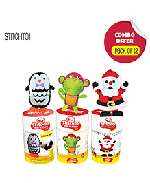 Toiing StitchToi Return Gift Combo Pack Of 12 - Multi Color