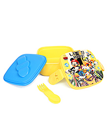 Disney Mickey Mouse & Friends Lunch Box  - Yellow & Blue