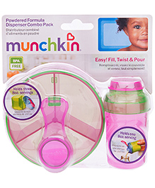 Munchkin Formula Dispenser Combo Pack Pink - 266 Ml