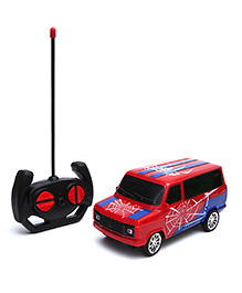Wembley Spiderman Remote Control High Speed Racing Car - Red & Blue