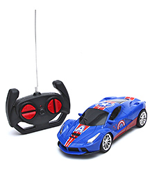 Wembley High Speed Remote Control Racing Car - Blue & Red