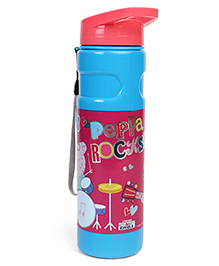 Peppa Pig Peppa Rocks Water Bottle Pink & Blue - 500 Ml