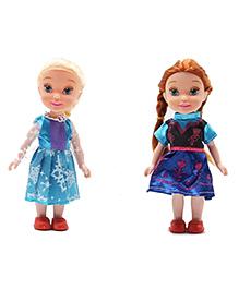 Emob Sister Dolls Pack Of 2 - Blue