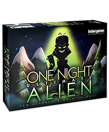 Bezier Games One Night Ultimate Alien Card Game - Multicolour