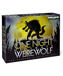 Bezier Games One Night Ultimate Werewolf Card Game - Multicolour