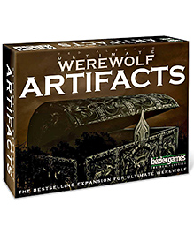 Bezier Games Ultimate Werewolf Artifacts 2E Card Game - Multicolour