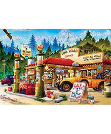 Buffalo Games Jigsaw Puzzle Cartoon World Pack Of 1000 Pieces - Multicolour