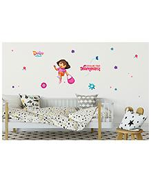 Asian Paints Dora Come On Wall Sticker - Multi Color