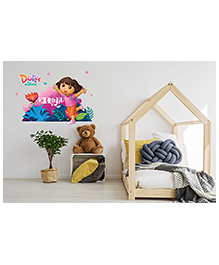 Asian Paints Dora In Woods Wall Sticker - Multi Color