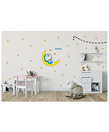 Asian Paints Peel & Stick Doraemon Under Stars Wall Sticker Extra Large - Multicolour