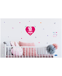 Asian Paints Peel & Stick Peppa Pig Large Wall Sticker Pack Of 5 Pieces - Multicolour