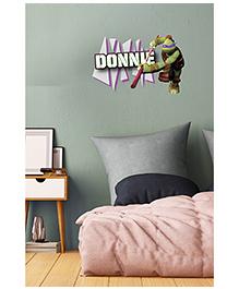 Asian Paints Peel & Stick Teenage Mutant Ninja Turtles Donnie's Bo Staff Vinyl Wall Sticker (Size: Large, Wall Covering Area - 1.8 Sqft)