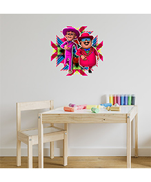 Asian Paints Peel And Stick Motu Patlu Cool Look Wall Sticker Extra Large - Multicolor