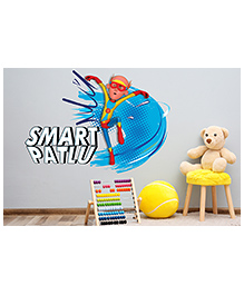 Asian Paints Peel And Stick Smart Patlu Wall Sticker Extra Large - Multicolor
