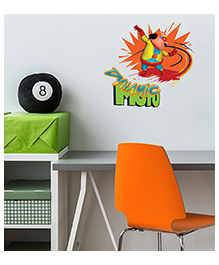 Asian Paints Peel And Stick Motu Patlu Bright & Active Wall Sticker Extra Large - Multicolor