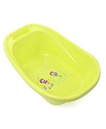 Baby Bath Tub Boy & Girl Print - Green